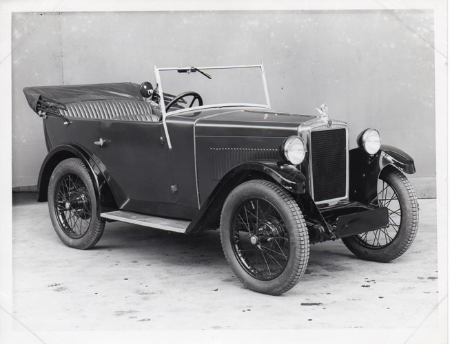 1932 Minor Tourer (development car)