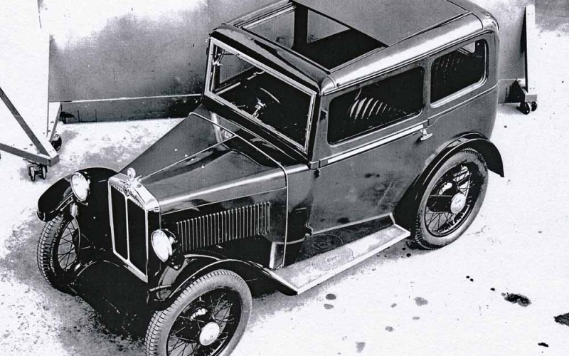 1932 Minor Sliding Head Saloon