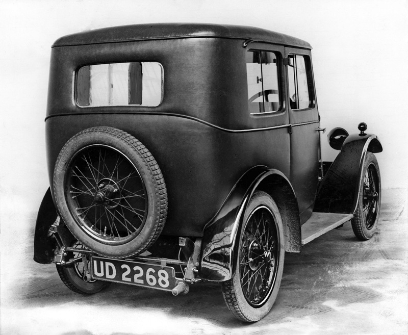 1929 Minor Fabric Saloon (development model)