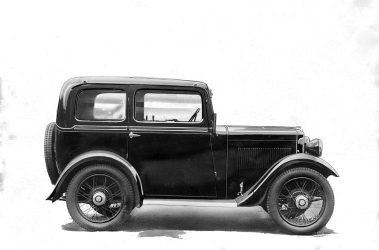 1934 Morris Minor Two-door sliding-head Saloon