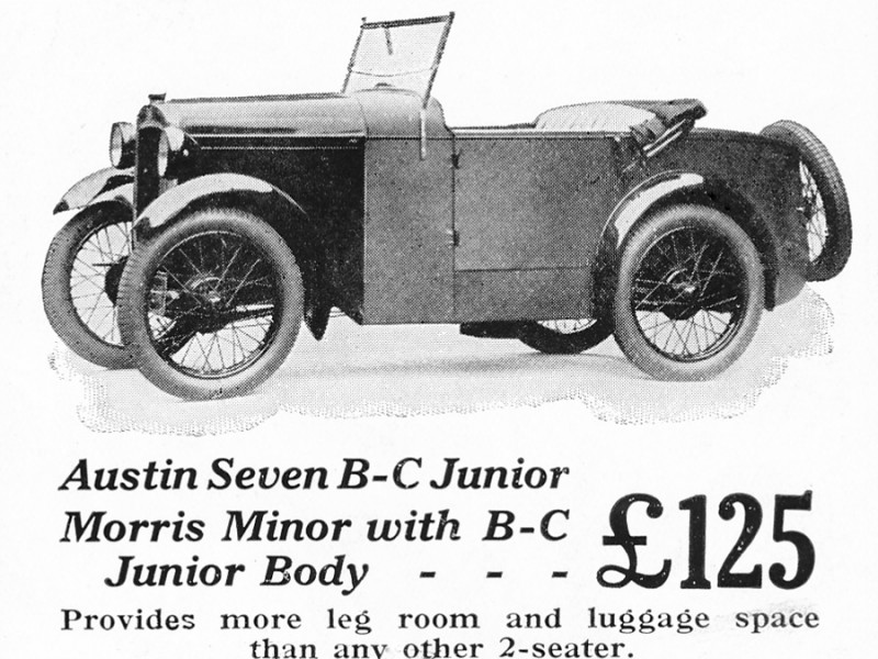 1930 Boyd Carpenter Junior Austin Seven Special
