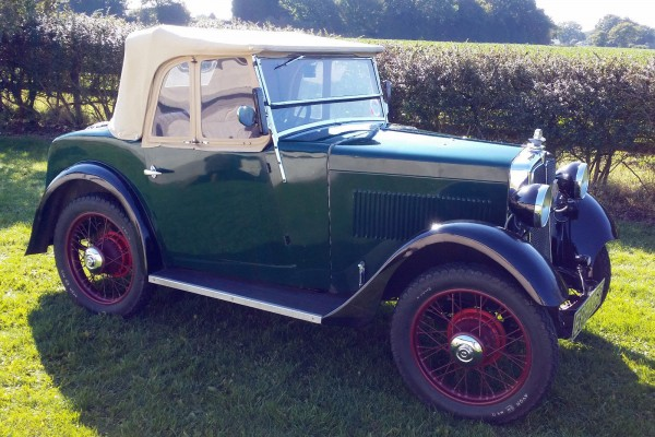 BPB 357 1934 Minor Two seater eBay Dec 2015 £10750 b ed