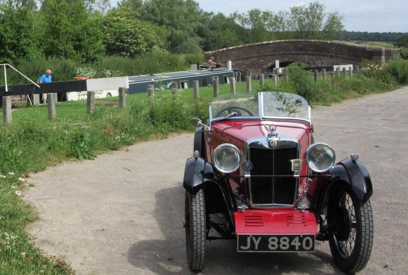 JY 8840 1931 MG Midget Bob Howden b