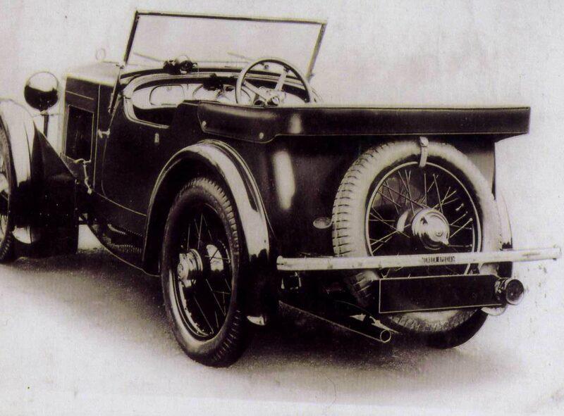 1932 Jensen Minor Special (Bev Hicks collection)