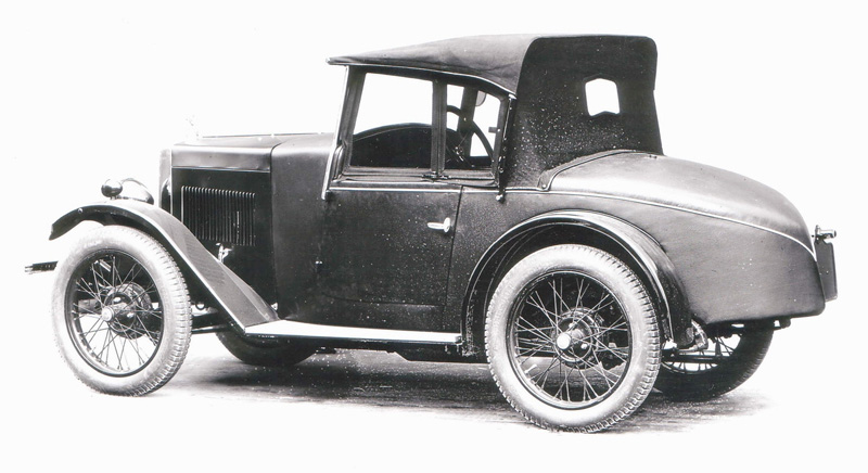 1930 Minor Semi-Sports (pre-production model)