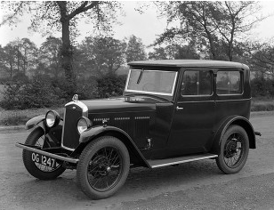 1930 Wolseley Hornet Saloon OG 1247 LAT Photo scan