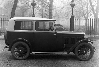 September 1930-1931 Wolseley Hornet Fabric Saloon