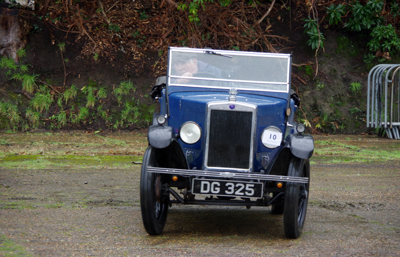 DG 325 1930 Minor Tourer Clive Hamilton-Gould