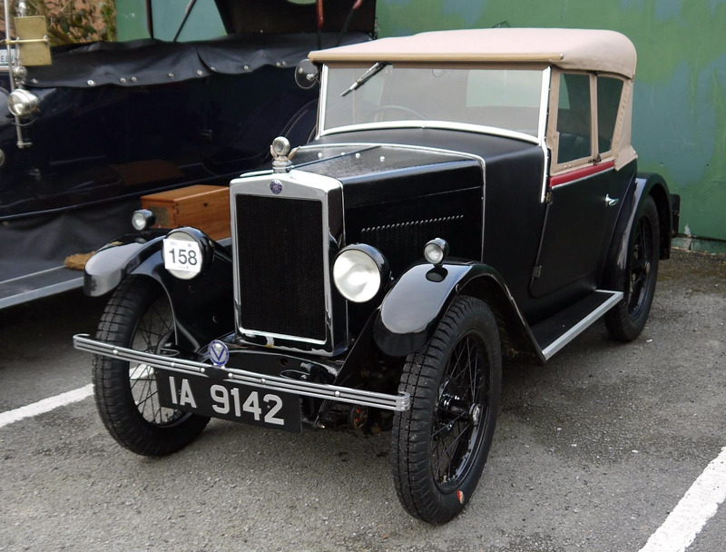 1930 Minor Semi-Sports Alistair Bond Metropole Hotel (Tebbett)