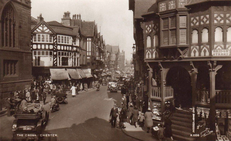 Minor saloon at The Cross Chester 1930