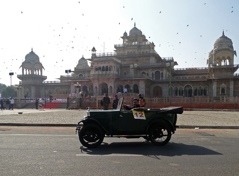 2016 Jaipur Rally outside the Albert Hall