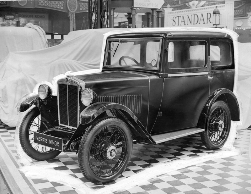 1932 Minor Saloon Olympia October 1931 Autocar image ed ws
