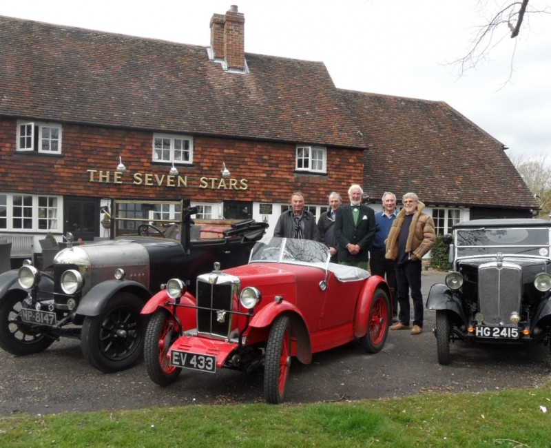Home Counties Spring Pub Meet - The quintet