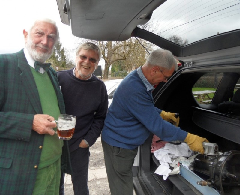 Home Counties Spring Pub Meet - Alister, Keith & Philip