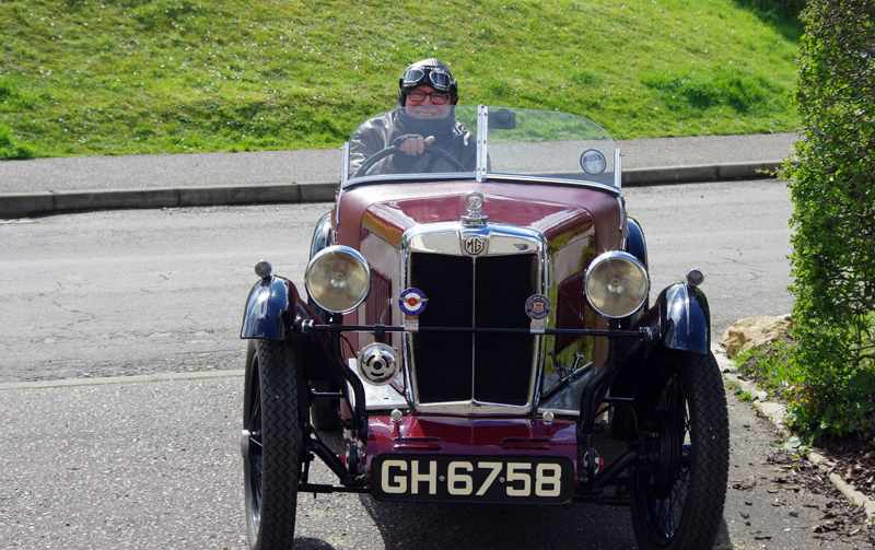Chris Lambert 1930 MG Midget GH 6758