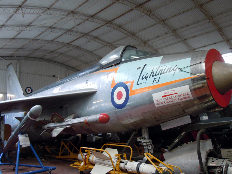 English Electric Lightning F1 Flixton (Bell)
