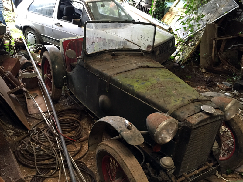 UR 9129 1931 Minor homebuilt Special barn find Rendlesham Suffolk Gary Weidner ws