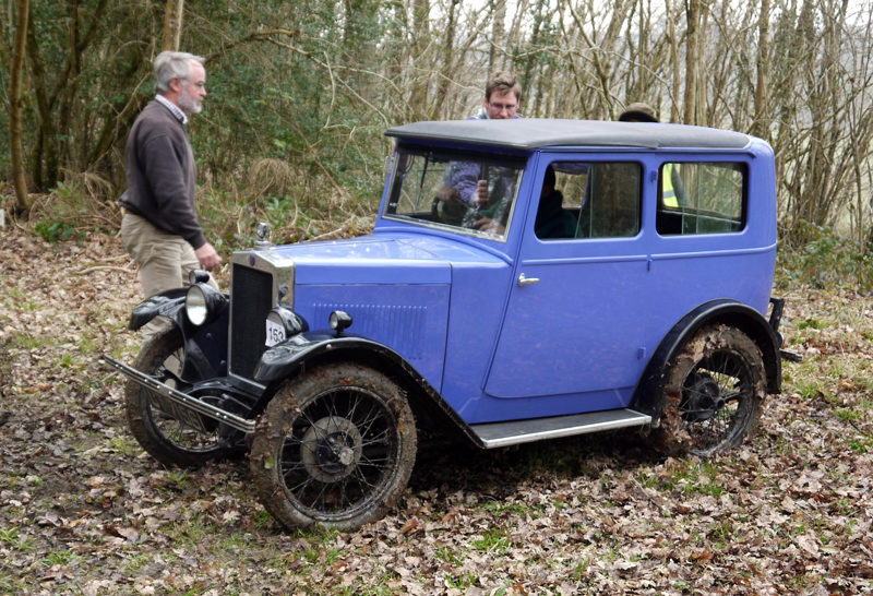 1930 Minor Coachbuilt Saloon UT 7156 The Rolfe's (Tebbett)