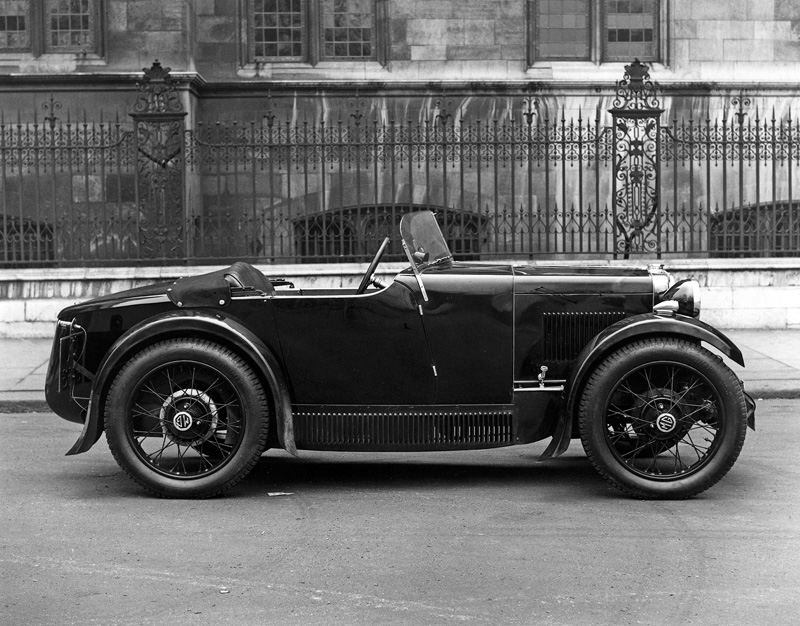 1932 season MG Midget metal paneled