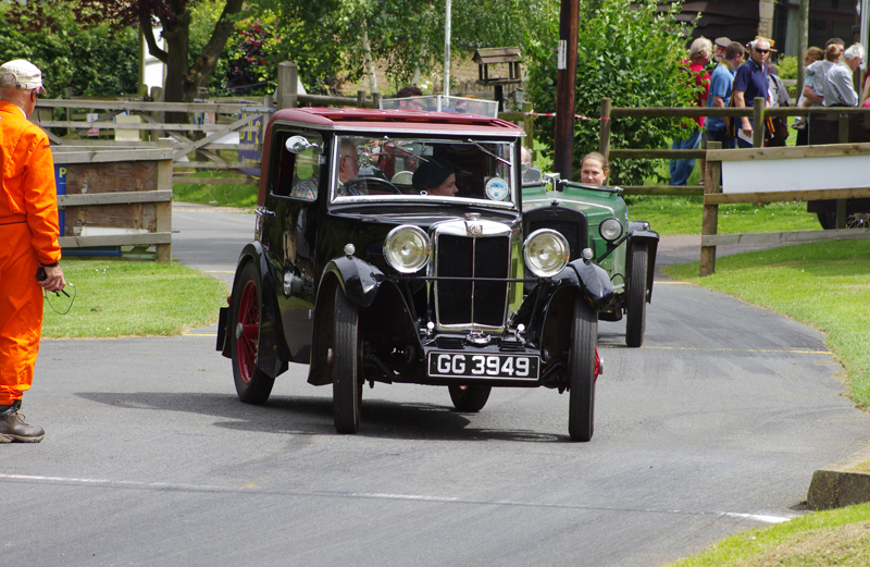 GG 3949 1931 MG Midget Sportsman's Coupe  Roger Burnett (Gregory}