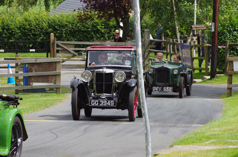 GG 3949 1931 MG Midget Sportsman's Coupe Roger Burnett (Gregory)