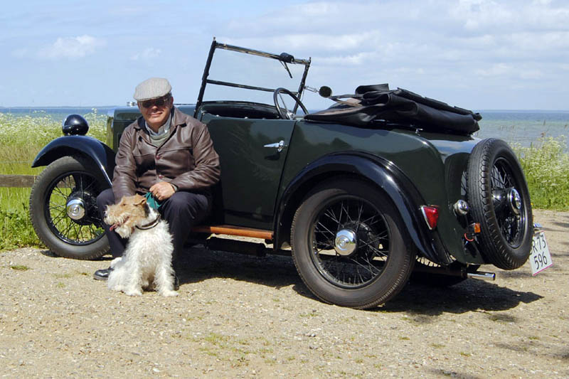 Y4474 1934 Minor Two-seater ed