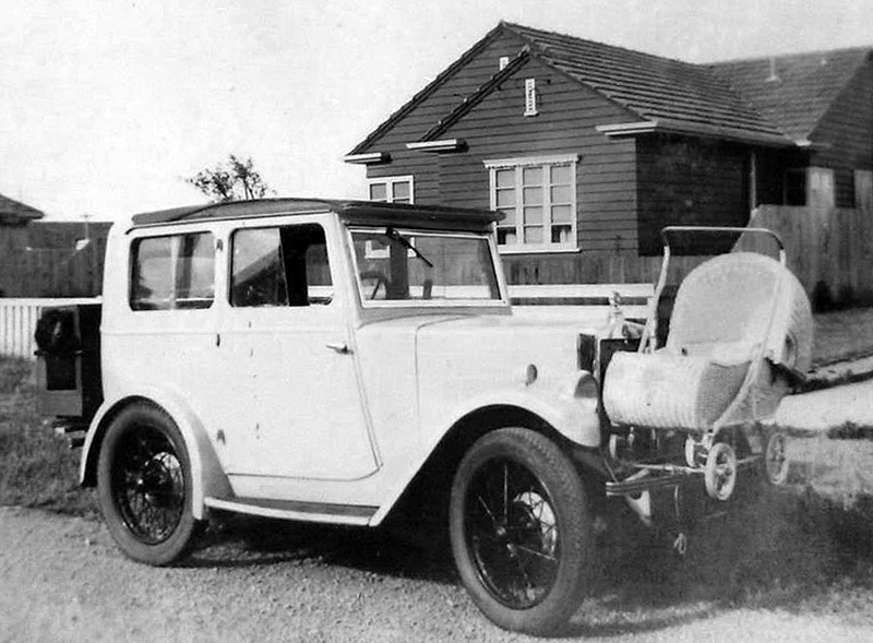 Adapted Minor Coachbuilt Saloon with pam and kennel John McDonald New Zealand a ws