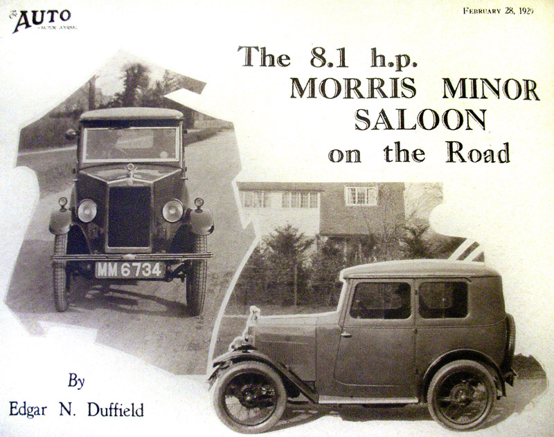 Auto Motor Journal V34 P253 Morris Minor article1 ws