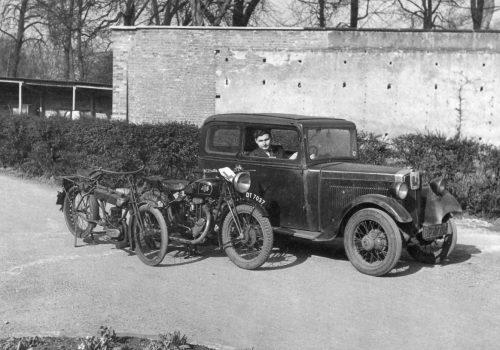 BFP 706 1934 Minor Saloon Joe Watson Notts Univ 1953