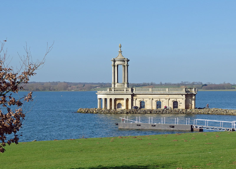 Normanton Church - the church in the water