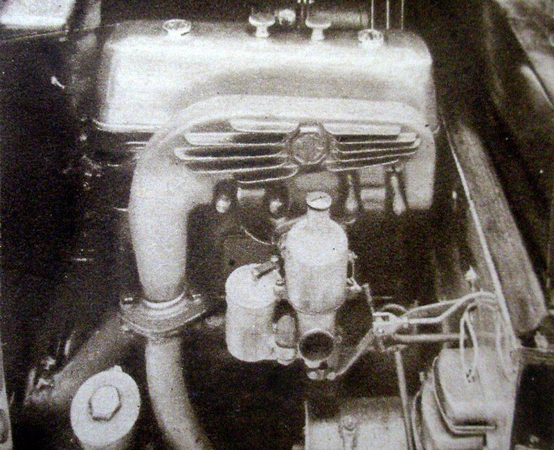 MG Midget WL 7163 nearside engine bay August 1929