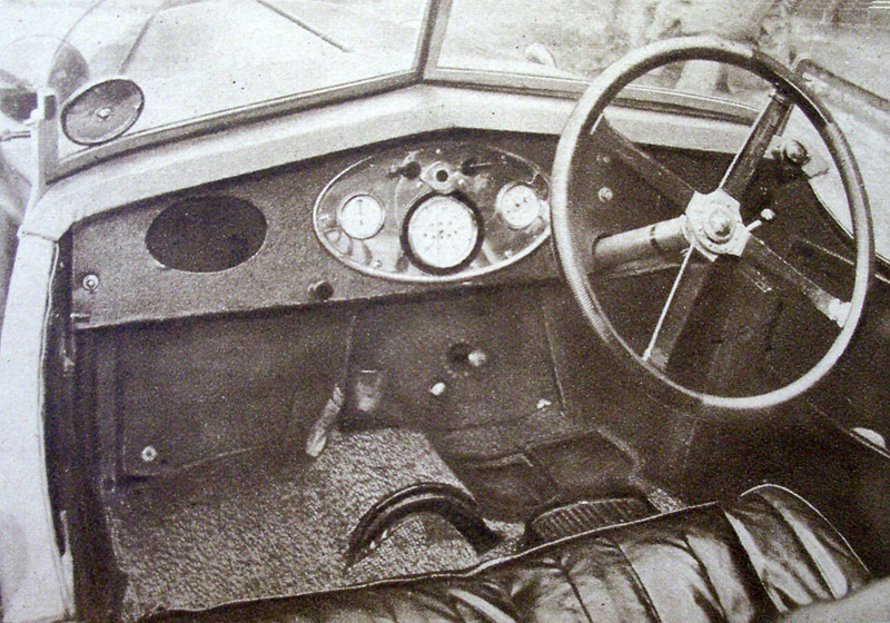 WL 7163 Midget interior 'doctored' photo August 1929