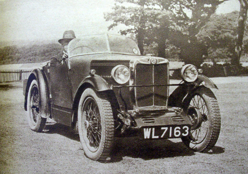 1929 MG Midget WL 7163 August 1929
