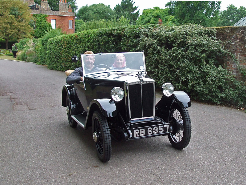 RB 6357 1932 Minor Two-seater Mick & Judith Roberts Capel Manor  ed ws