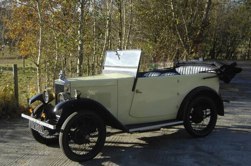 DV 3600 1930 Minor Tourer Sussex Nov 2016 carandclassic £11995