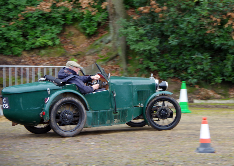 GC 7705 1930 Midget Richard Jenkins Brooklands Jan 2017