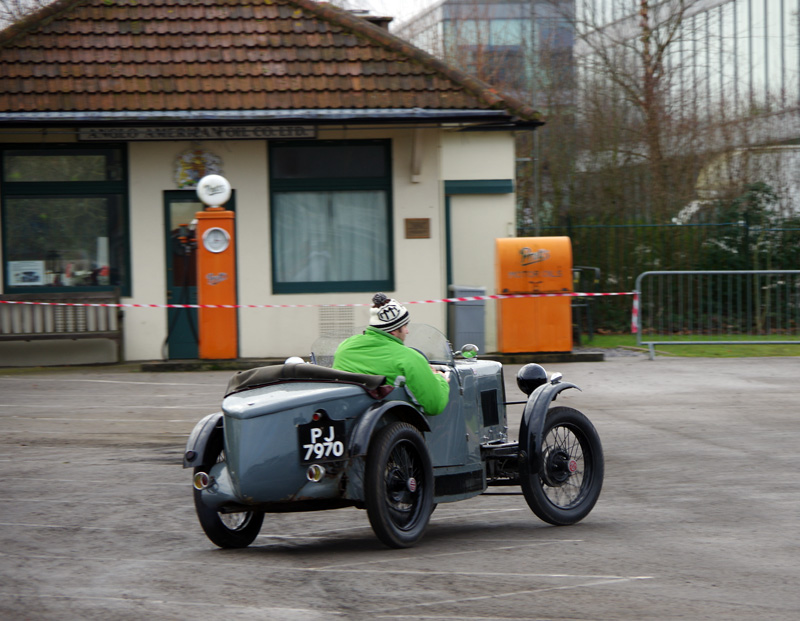 PJ 7970 1932 M Type Midget David Rushton Brooklands 29th Jan 2017
