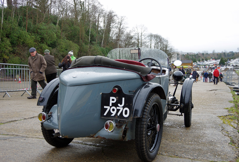 PJ 7970 1932 MG M Type Midget Brooklands VSCC Driving Tests 29th Jan 2017