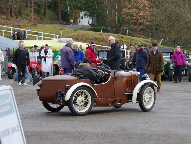 VC 8174 Double Twelve replica Midget Brooklands Jan 2017
