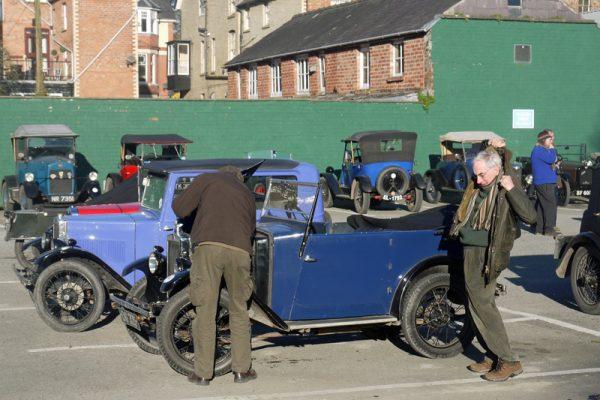 DG 325 1930 Minor Tourer Clive Hamilton - Gould LC&ES Welsh Weekend (Tebbett)