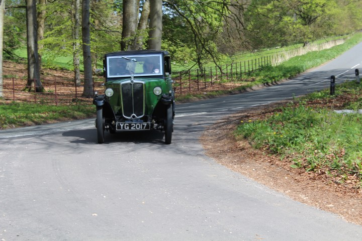 Morris Register/PWMN DiD run 1933 Minor Saloon YG 2017