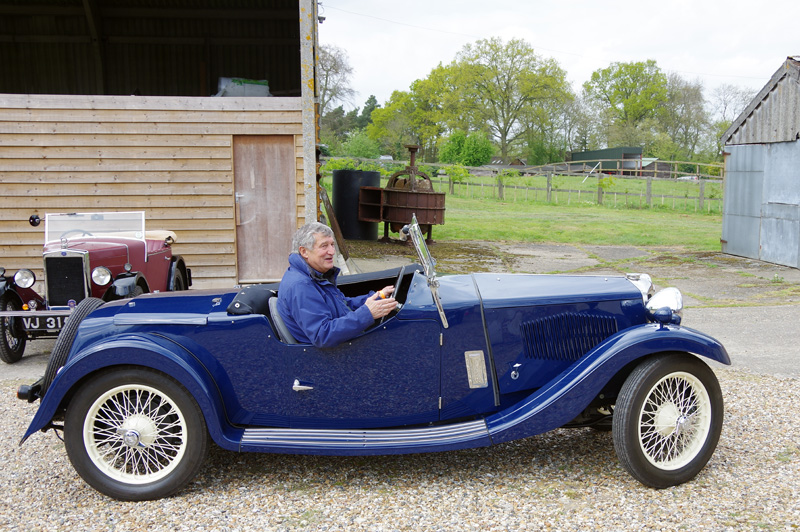 Mike Summers Riley Special first outing Pakenham Water Mill