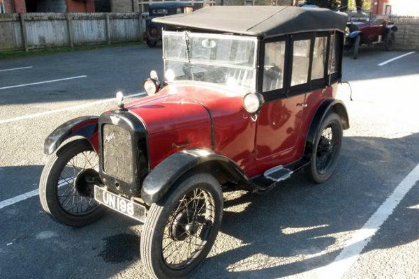UN 198 1927 Austin Seven Chummy 2017 Light Car Welsh (Bond)