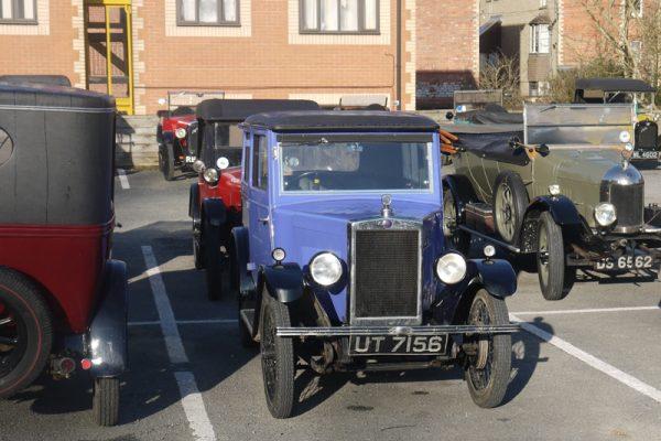 UT 7156 Minor Coachbuilt saloon The Rolfes 2017 Light Car Welsh (Tebbett)