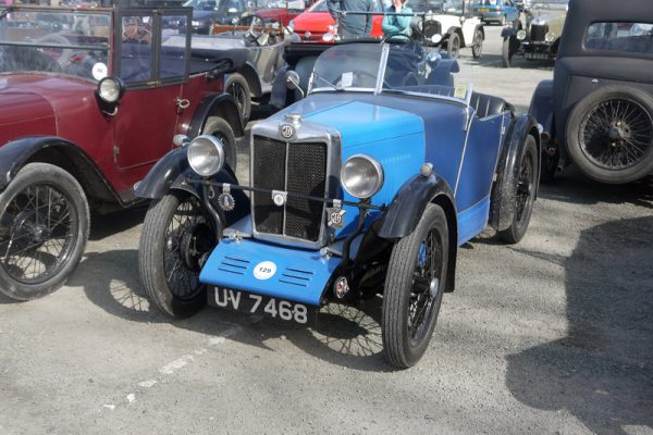 UV 7468 1929 MG M Type Roger Tushingham LC&ES Welsh 2017 (Tebbett)