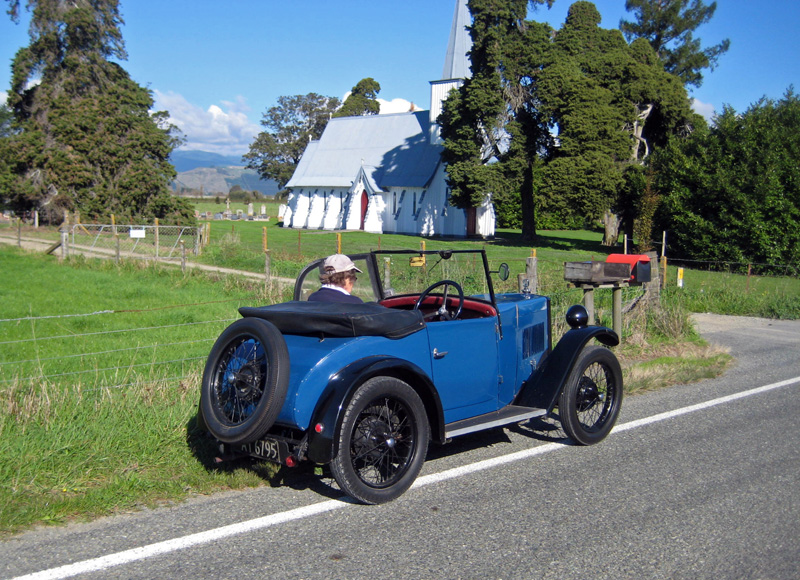AT 6795 1931 Minor Two seater Waimea West New Zealand Peter Field