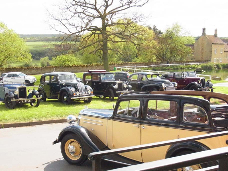 Tickford Vauxhall and a Morris fleet