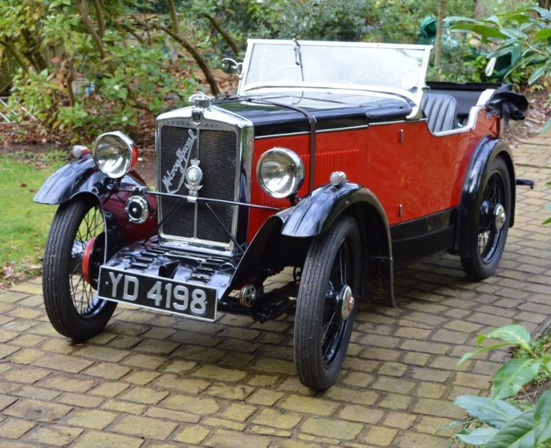 YD 4198 1932 McEvoy Minor Brightwells Auction Bicester April 2017 Hammer price £23K