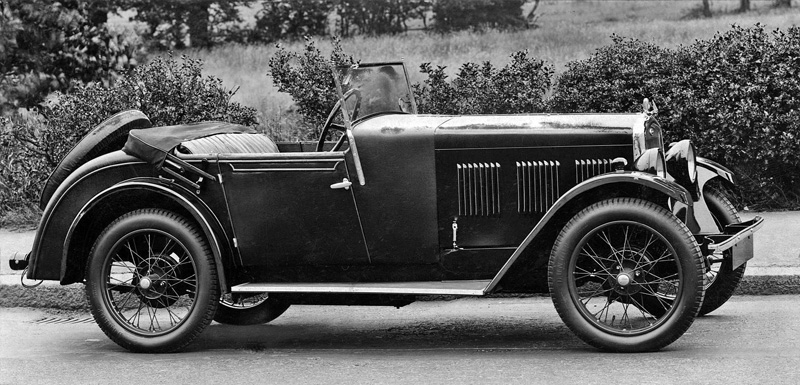 1930 Hoyal Wolsely Hornet Two-seater special Autocar 27th June 1930 p1269
