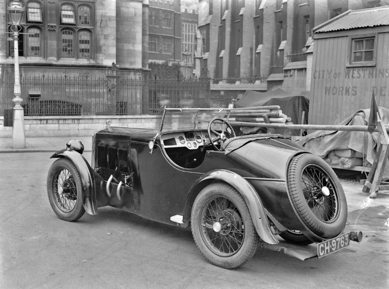 1931 McEvoy Wolseley Hornet Sports CH 9763 published Light Car and Motor spring 1931